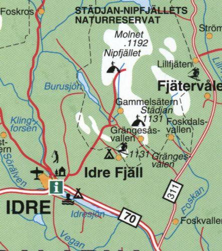 fjätervålen karta Idre Fjäll   Gränjesåsvallen   Private Ski Cabin fjätervålen karta